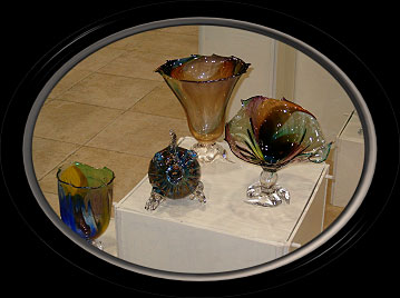 Hand Blown Glass by Rich Fizer